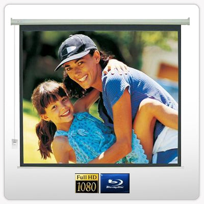 "120"" Electric Motorised Projector Screen TV + Remote - Factory Direct Oz"