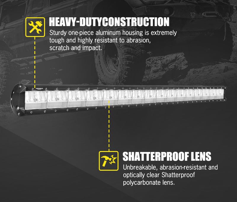 DEFEND 45inch LED Light Bar - Factory Direct Oz