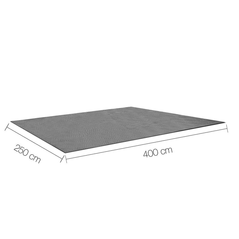 Heavy Duty Annex Matting 4 x 2.5M - Grey - Factory Direct Oz