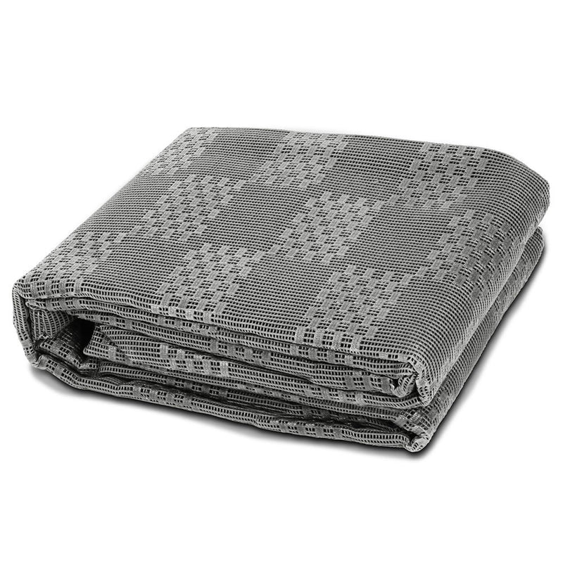 Heavy Duty Annex Matting 5 x 2.5M - Grey - Factory Direct Oz
