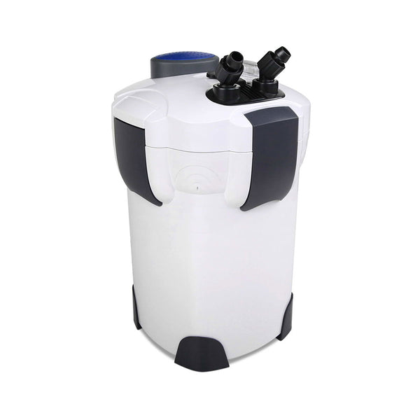 Aquarium External Canister Filter w/ UV Light & Media Kit - 2400L/H - Factory Direct Oz
