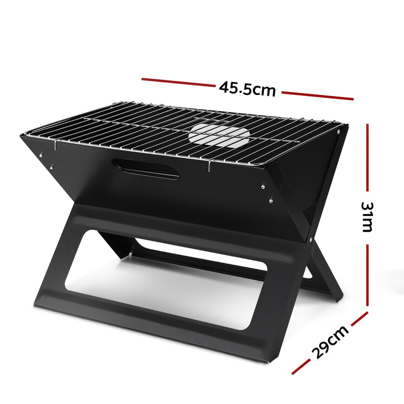 Grillz Portable Charcoal BBQ Grill - Factory Direct Oz