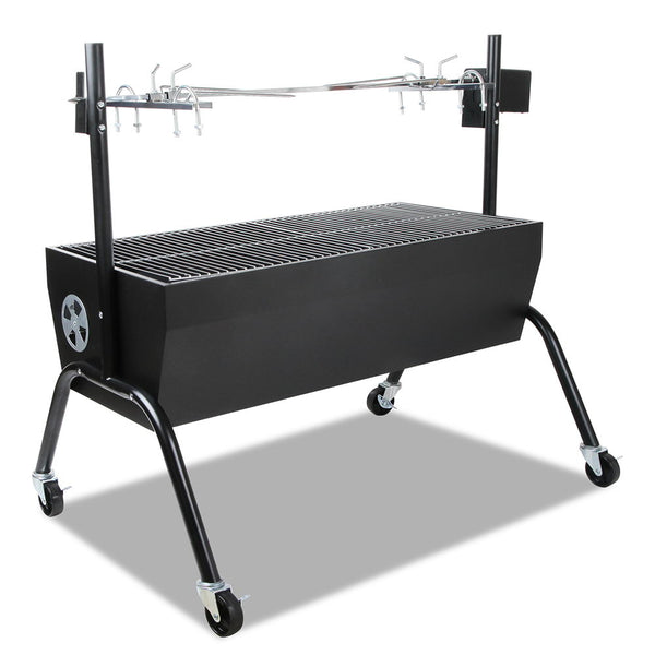 Portable Electric Spit Roaster & Rotisserie - Factory Direct Oz