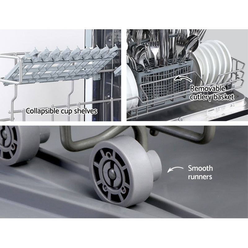 Devanti Benchtop Dishwasher - 6 Place Setting - Factory Direct Oz