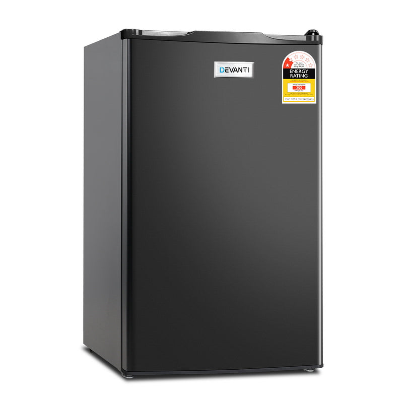 127L Bar Fridge - Black - Factory Direct Oz