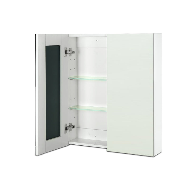 Cefito Bathroom Vanity Mirror with Storage Cabinet - White - Factory Direct Oz
