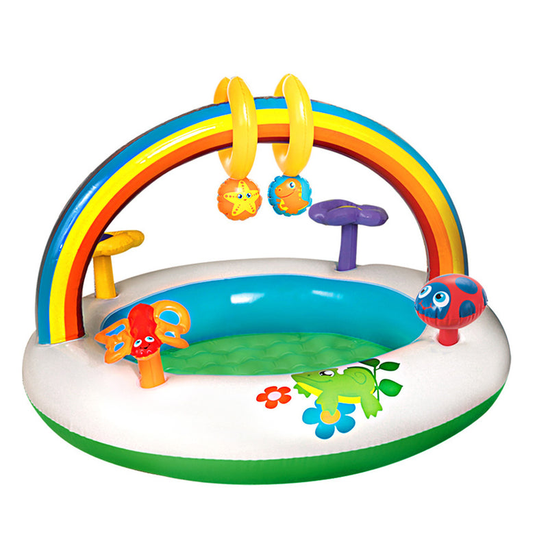 Inflatable Kids Pool with Activity Centre - Factory Direct Oz
