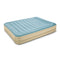 Bestway Queen Size Inflatable Mattress - Light Blue & Beige - Factory Direct Oz