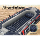 Bestway 4-person Inflatable HYDRO-FORCE Boat - Factory Direct Oz