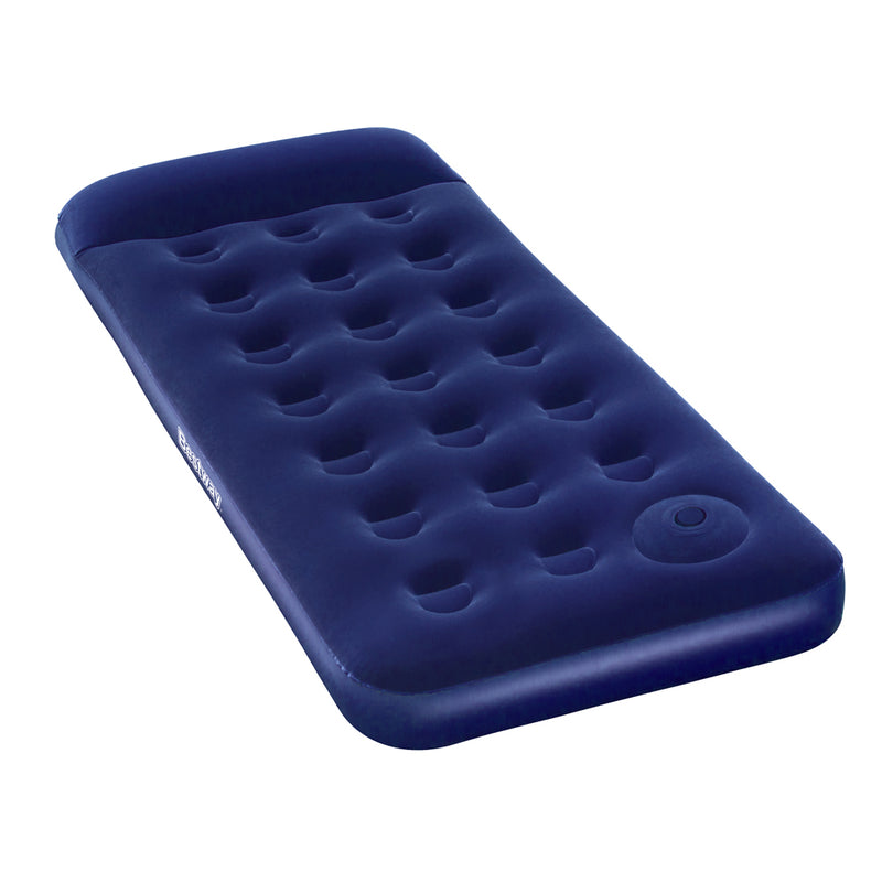 Bestway Single Size Inflatable Air Mattress - Navy - Factory Direct Oz