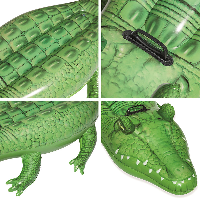 Bestway 168cm Inflatable Crocodile Pool Toy - Factory Direct Oz