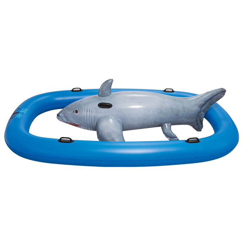 Bestway 3.1m Shark Riding Inflatable Pool Raft - Factory Direct Oz