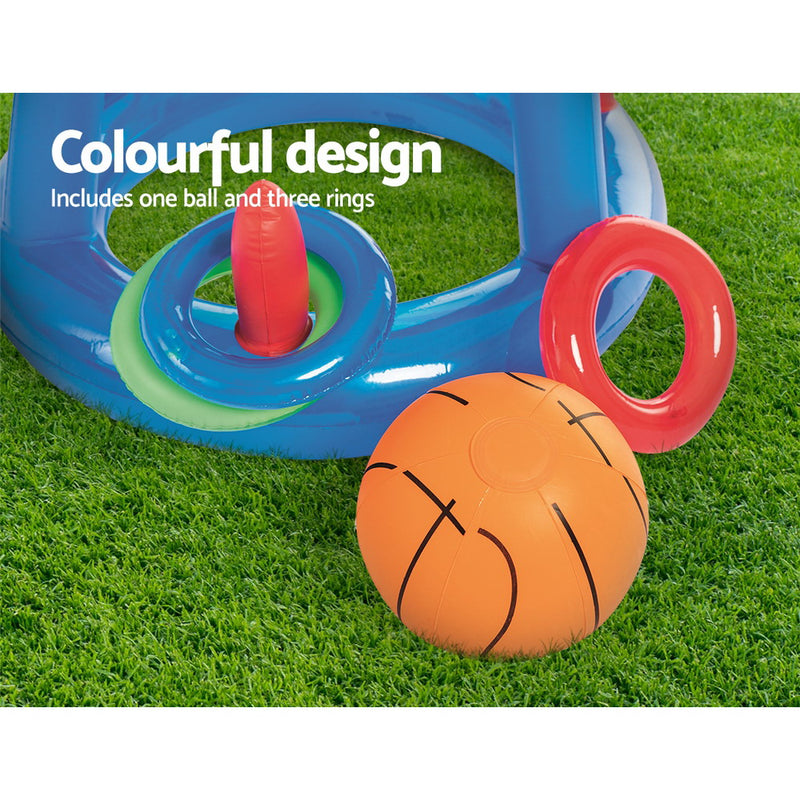 Bestway Inflatable Basketball Hoop Pool Toy - Factory Direct Oz