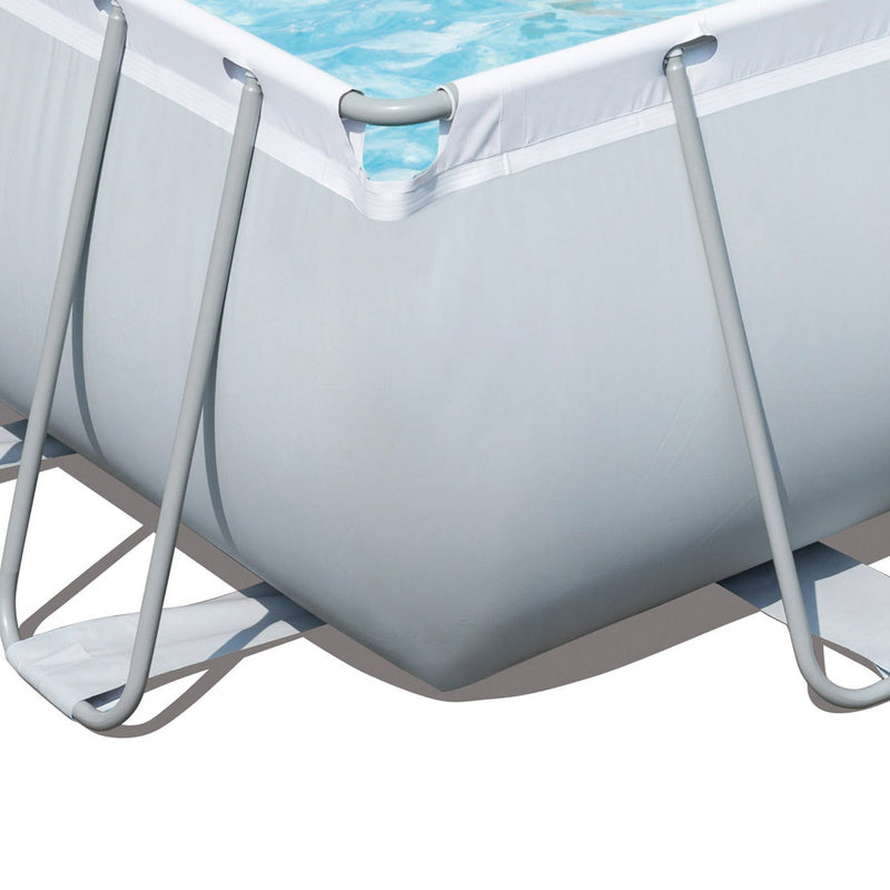 Bestway 4M Rectangular Above Ground Swimming Pool w/ Filter Pump - Factory Direct Oz