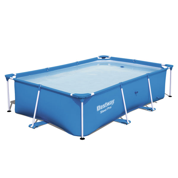 Bestway Rectangular Above Ground Swimming Pool - Factory Direct Oz