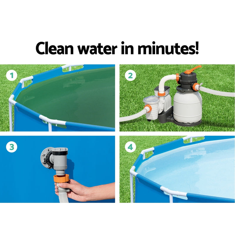 Bestway 1500GPH Flowclear© Sand Filter - Factory Direct Oz