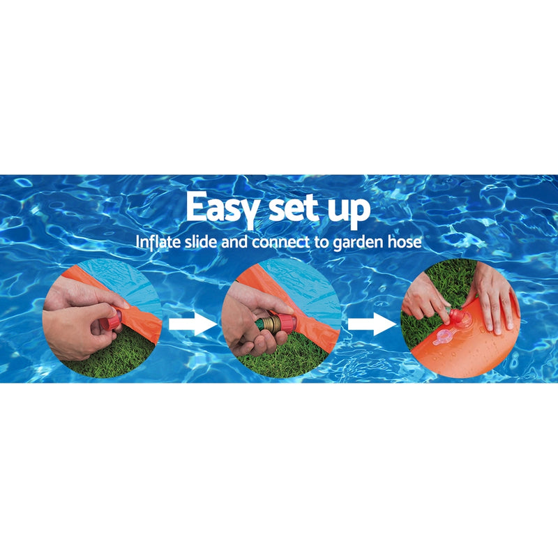 Bestway 5.49M Inflatable Single Water Slip And Slide - Factory Direct Oz