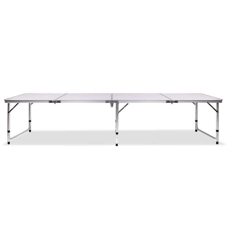 Folding Camp Table 240cm - Factory Direct Oz
