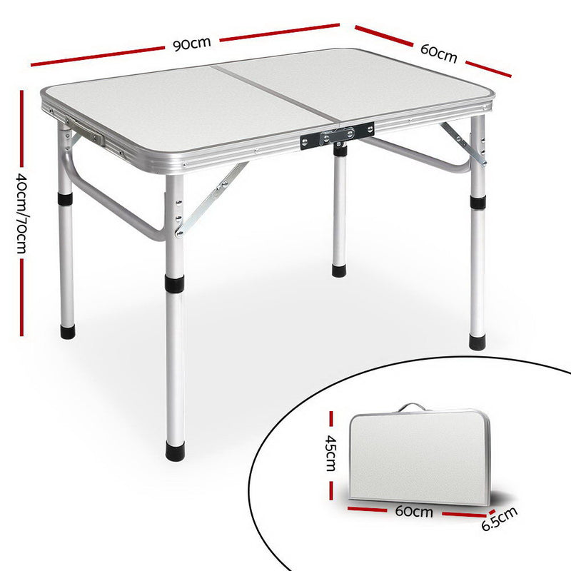 Weisshorn Camping Foldable Kitchen Table - Factory Direct Oz