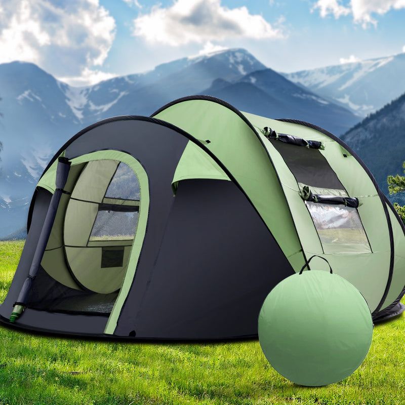 Weisshorn Instant Up 4-5 Person Tent - Factory Direct Oz