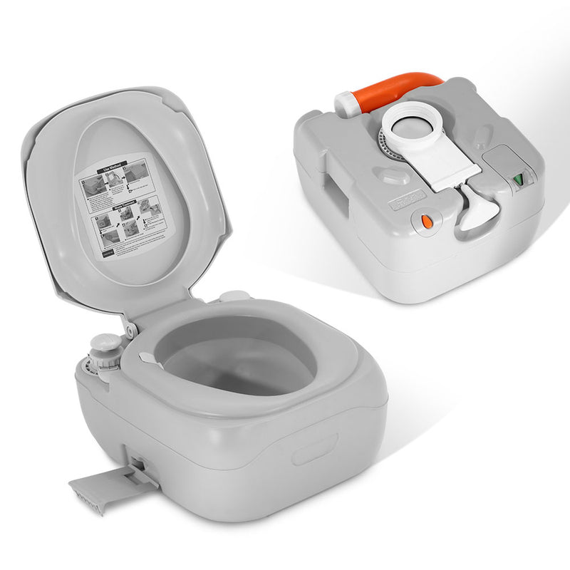 Portable Camping Toilet - 22L - Factory Direct Oz