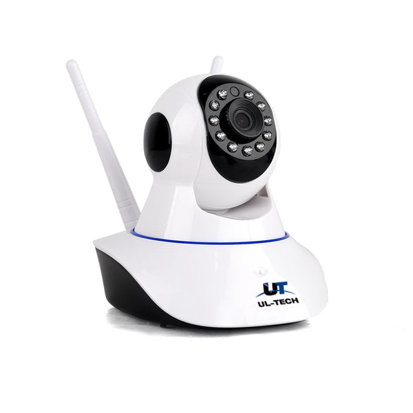 UL Tech 1080P IP Wireless Camera - White - Factory Direct Oz