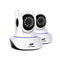 UL Tech Set of 2 1080P IP Wireless Camera - White - Factory Direct Oz