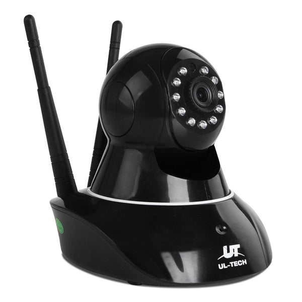UL Tech 1080P WIreless IP Camera - Black - Factory Direct Oz