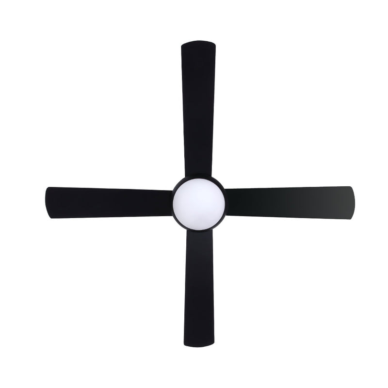 "Devanti 52"" Ceiling Fan - Black - Factory Direct Oz"