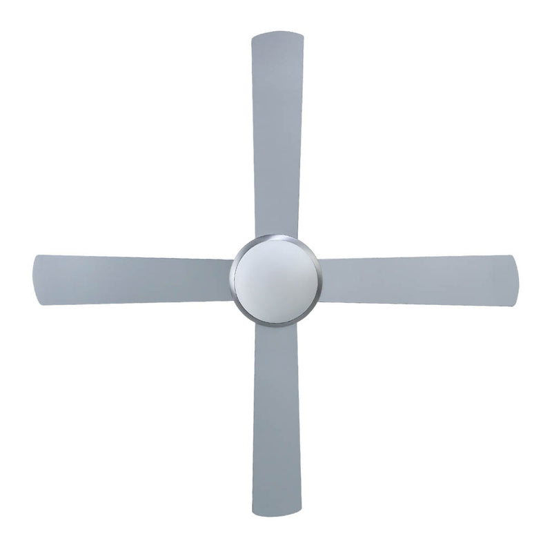 "Devanti 52"" Ceiling Fan with Light - Silver - Factory Direct Oz"