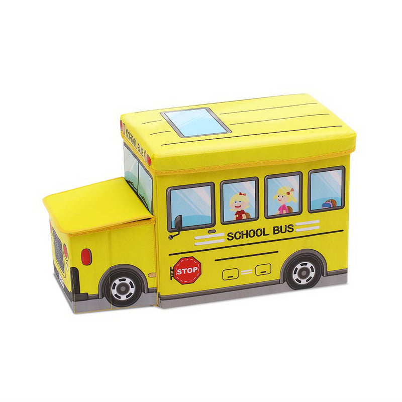 Kids Toy Storage Box - Yellow - Factory Direct Oz