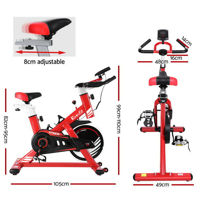 Everfit Exercise Spin Bike - Factory Direct Oz