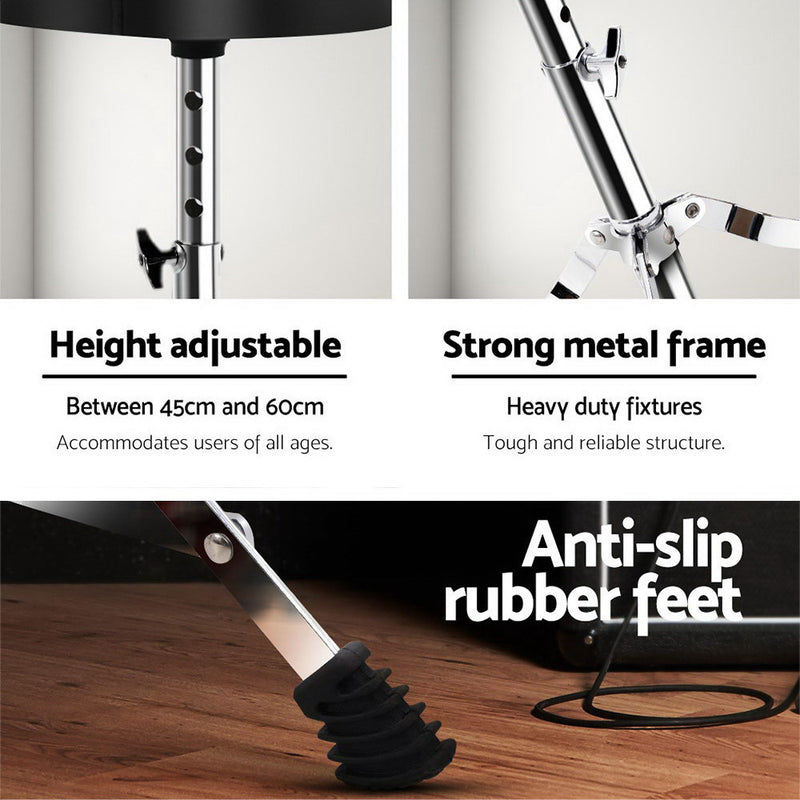 Adjustable Drum Stool - Factory Direct Oz