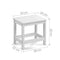 Kids Lift-Top Desk and Stool - White - Factory Direct Oz