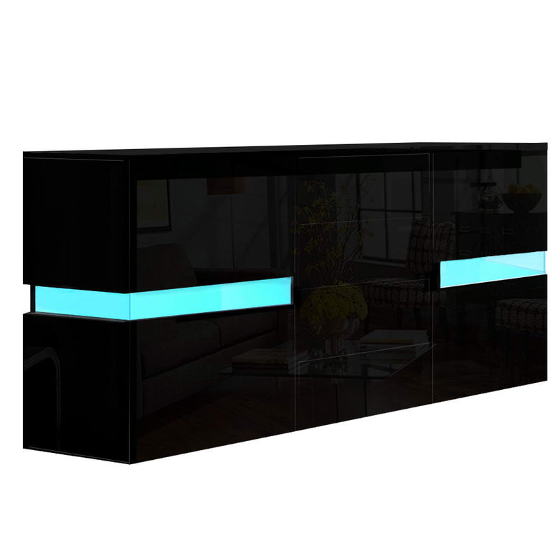 Artiss High Gloss LED Buffet Sideboard - Factory Direct Oz