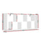 Artiss Floating Wall Shelf - White - Factory Direct Oz
