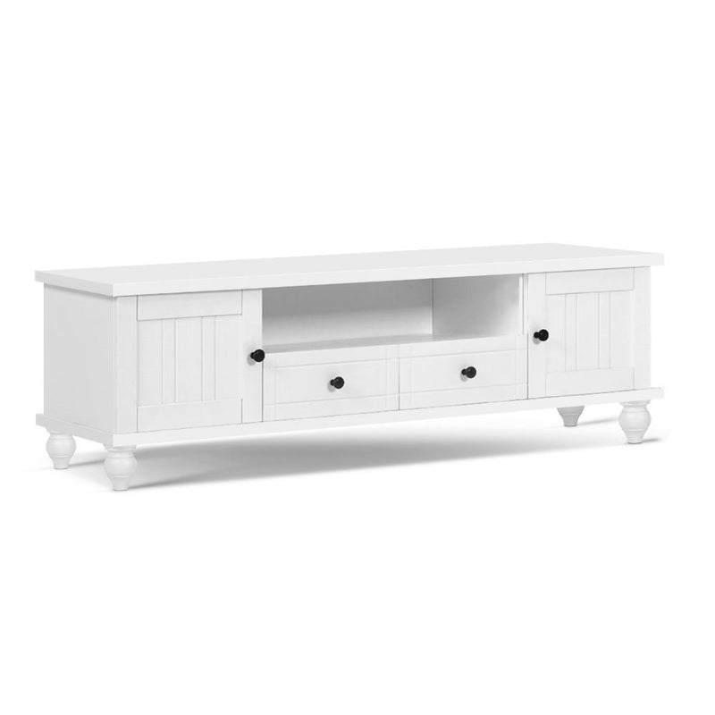 Artiss 162cm French Provincial Entertainment Unit - White - Factory Direct Oz