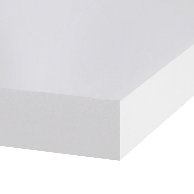 Artiss 3 Piece Floating Wall Shelves - White - Factory Direct Oz