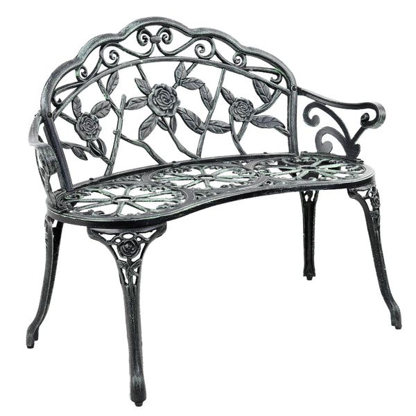 Gardeon Victorian Garden Bench - Green - Factory Direct Oz