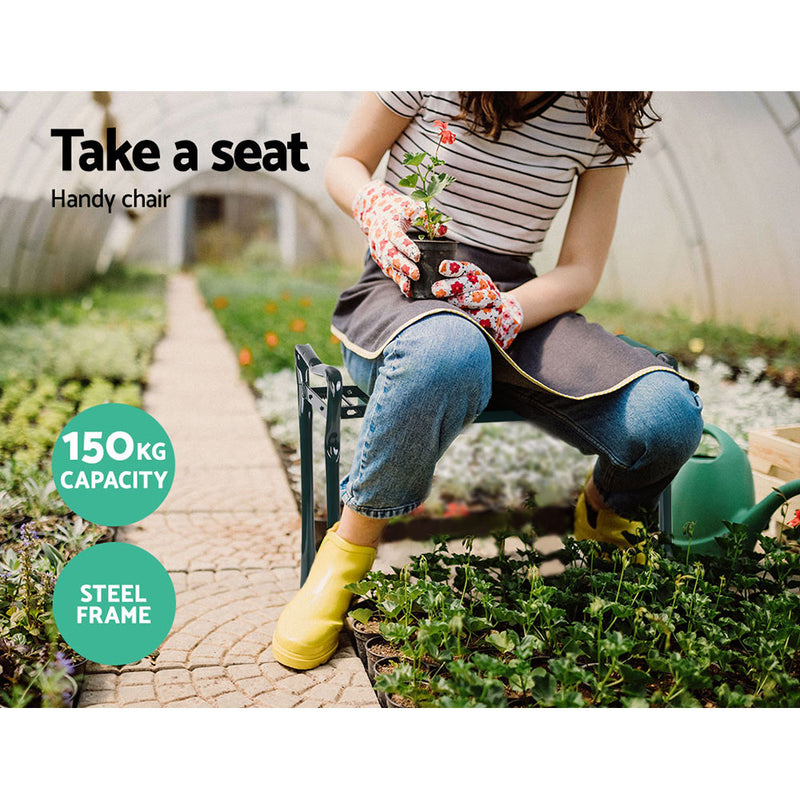 Gardeon Garden Kneeler Seat - Factory Direct Oz