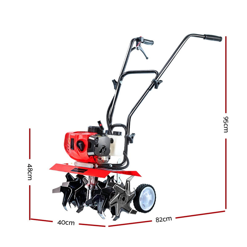 Giantz 88CC 36 Tines Rototiller Rotary Hoe - Factory Direct Oz
