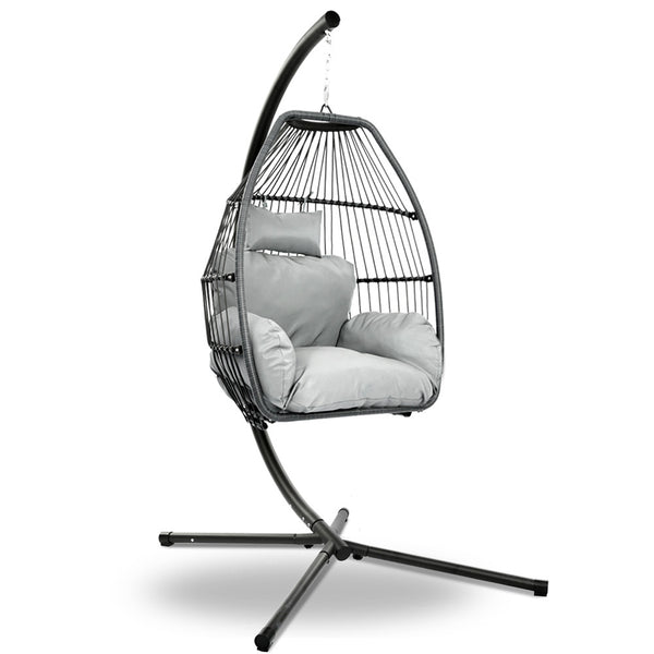 Gardeon Hanging Rattan Egg Chair - Factory Direct Oz