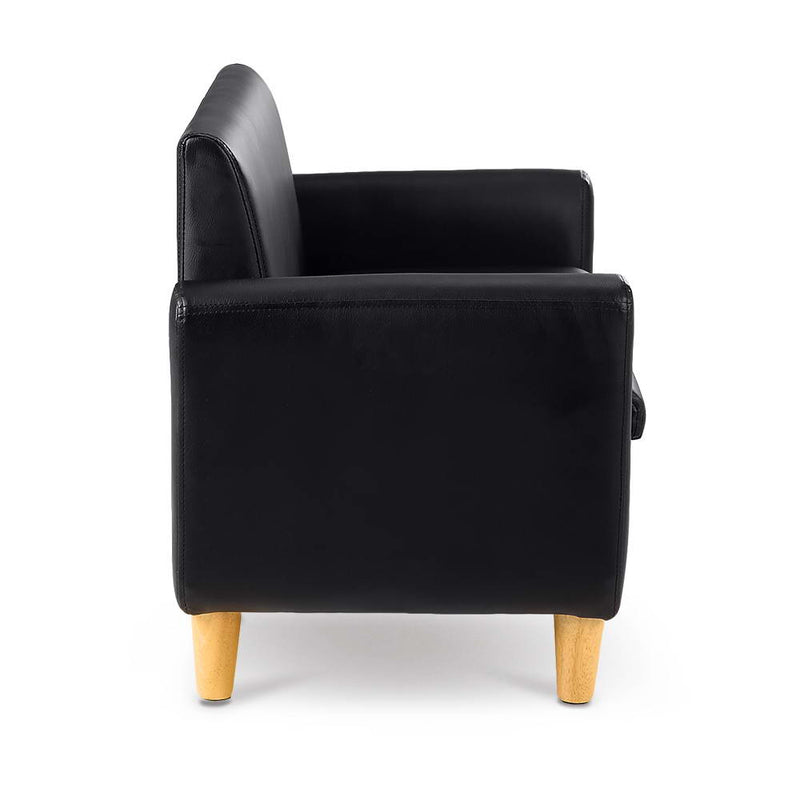Kids PU Leather Double Armchair - Factory Direct Oz