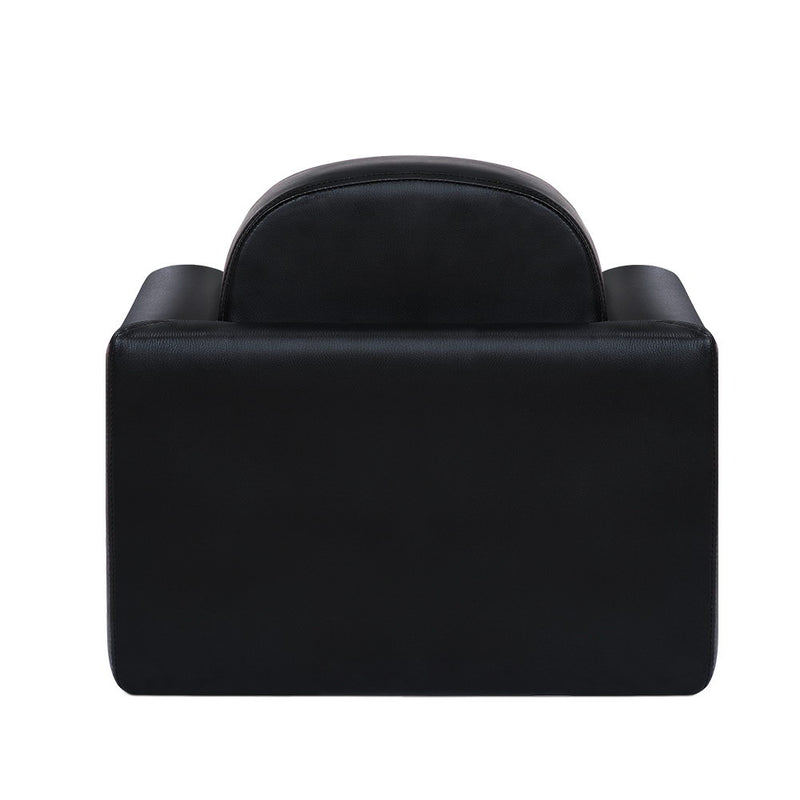 Kids Convertible Armchair - Black - Factory Direct Oz