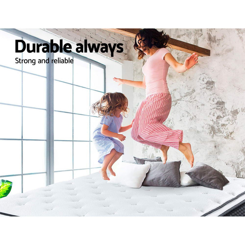 Giselle Single Euro Top Mattress - Factory Direct Oz