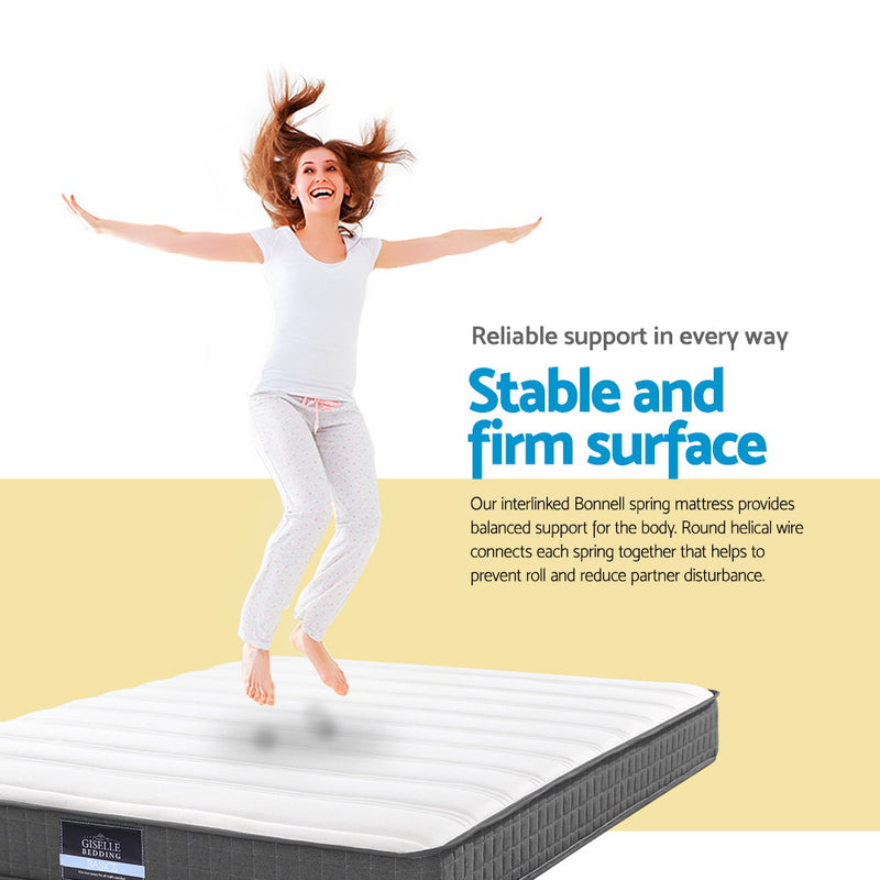 Giselle King Single Elastic Foam Mattress - Factory Direct Oz