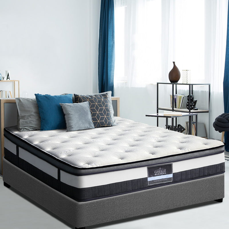 Giselle Queen Size Cashmere Euro Top Mattress - Factory Direct Oz