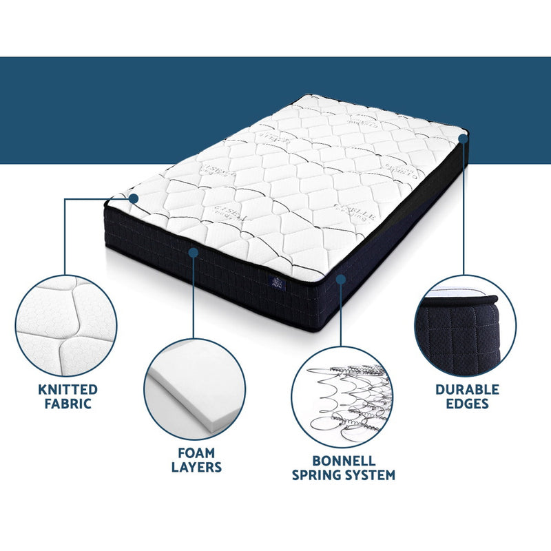 Giselle Single Bonnell Medium Firm Mattress - Factory Direct Oz