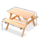 Kids Wooden Picnic Bench - Factory Direct Oz