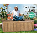 Gardeon Wooden Garden Storage Bench - Factory Direct Oz